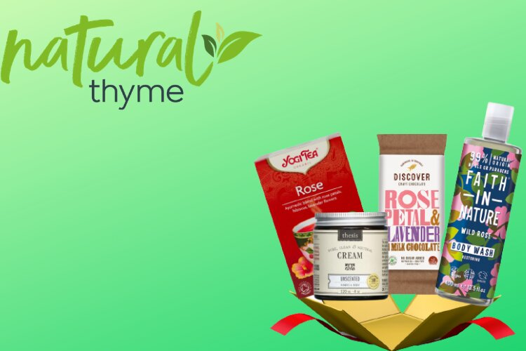 Natural Thyme Mothers Day Gift Box - Limited Edition