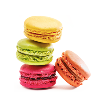 Stack of macaroons - Food category